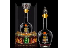 西凤酒52度窖酒捌号浓香型粮食酒水送礼盒装高度白酒佳品 单瓶500ml