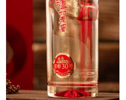 泸州老窖 窖龄30年 52度 浓香型白酒 500ml