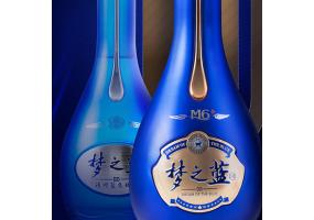 洋河蓝色经典绵柔白酒 梦之蓝M6+ 40.8度 550ML