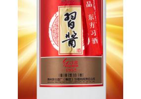 习酒 红习酱1952 53度 酱香型高度白酒 500ml*6瓶 整箱装