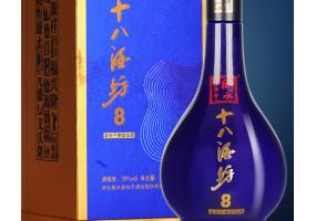 十八酒坊 白酒 醇柔典范8 地缸发酵 老白干香型 39度 480ml*4瓶 整箱装(新老包装随机发货)