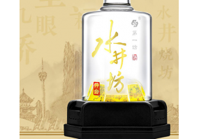 水井坊 高度白酒 浓香型 井台瓶 52度500ml*6瓶 整箱装